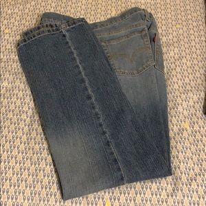 Levi jeans size 12 S 505 straight leg